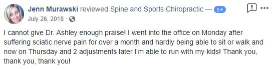 Spine & Sports Chiropractic Patient Testimonial